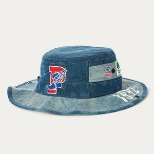 Polo Ralph Lauren Indigo Stadium 1992 Boonie Hat